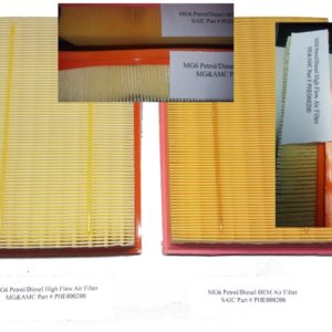 MG6 High Flow Air Filter - Performance (Consumable Item)