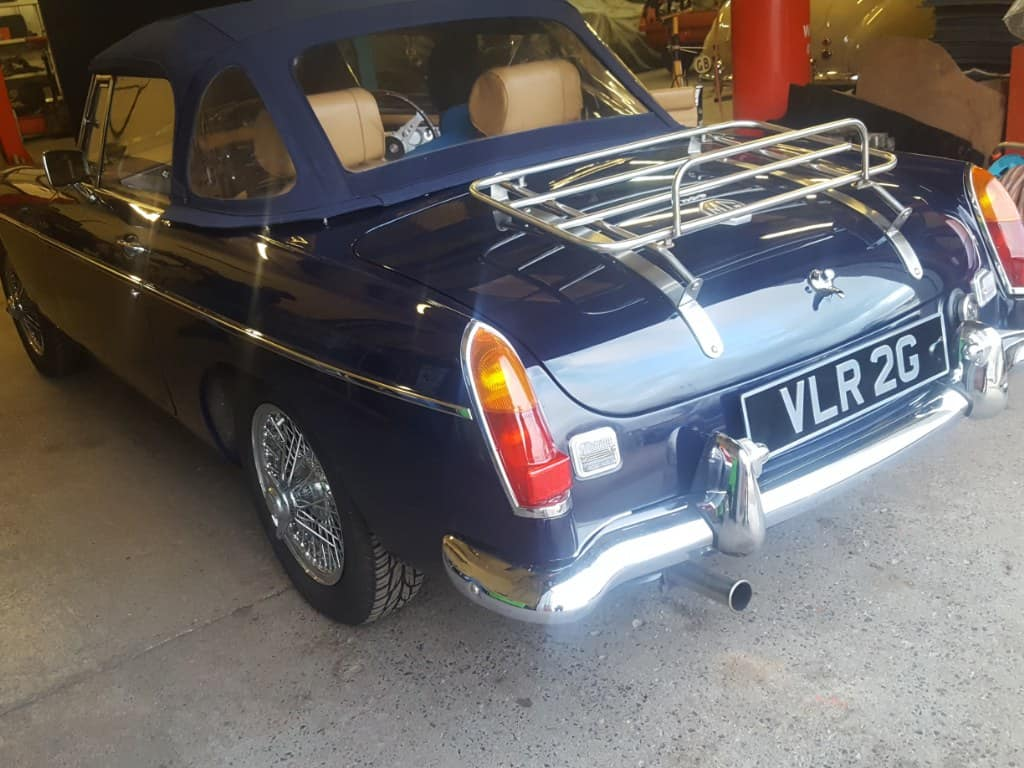 1968 MGB Roadster - Starting and running issues