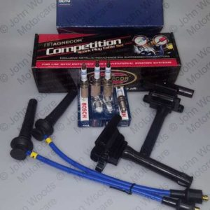 K Series & MG6 Ignition Set 2 x OEM NEC000120 / 1 x Magnecor 40393 4 x OEM NLP100290 Spark Plugs (Non VVC)