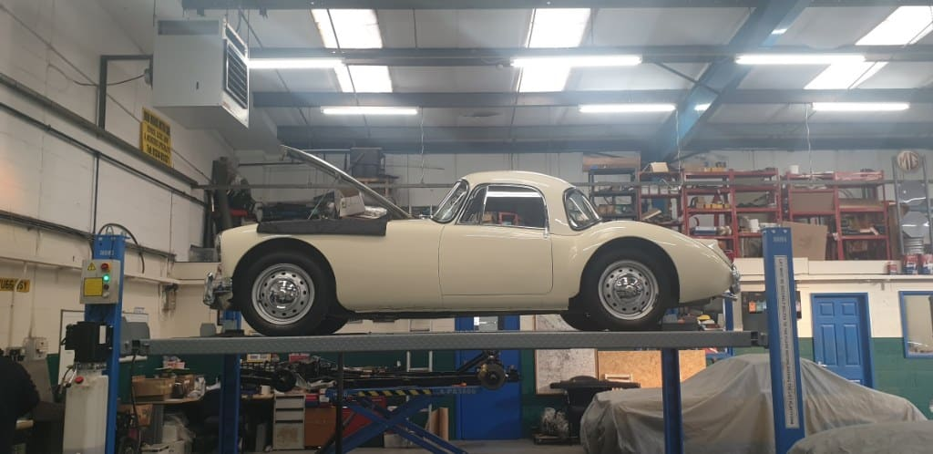 1961 MGA - Full Service, Lube check and brake system overhaul
