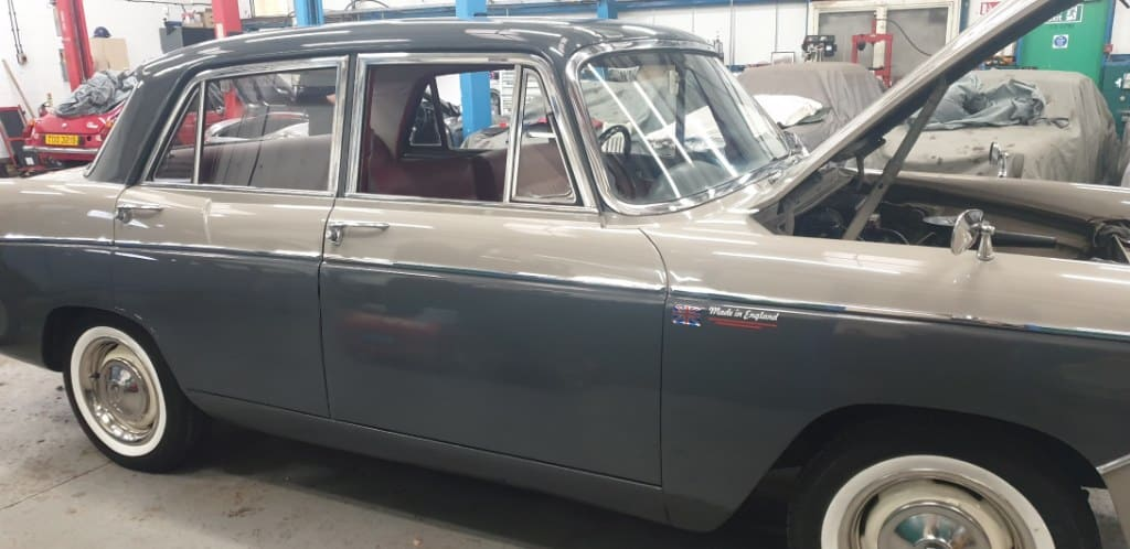 1967 Wolesey 16/60 Check over, repair and service for it's new owner