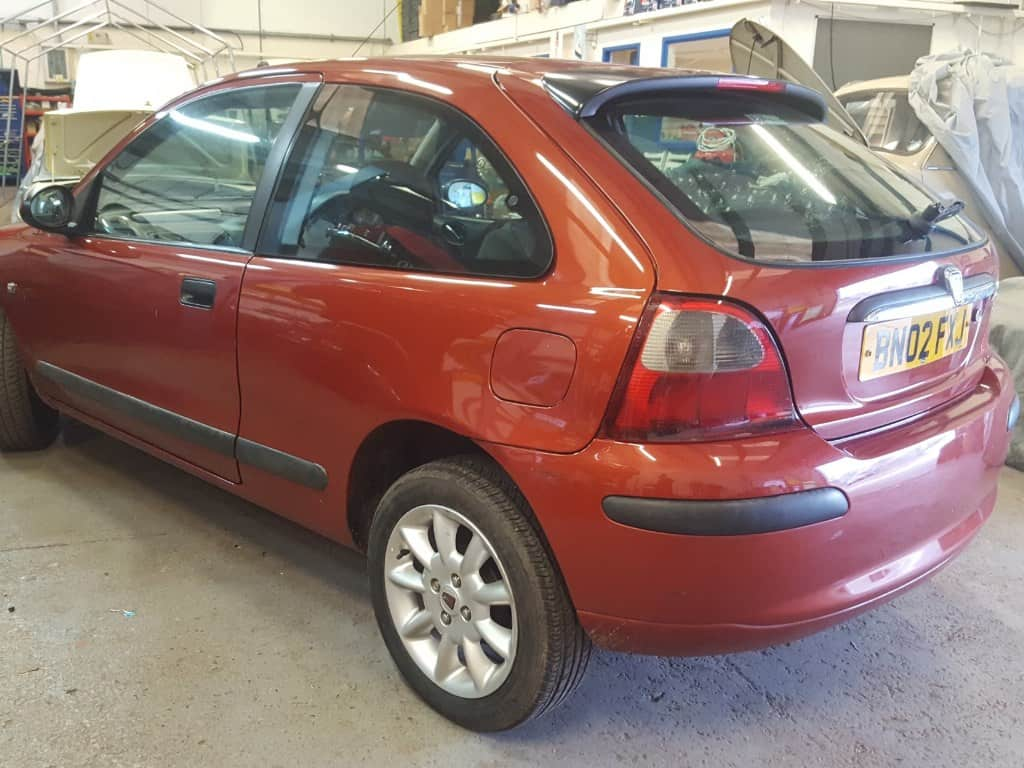 2002 Rover 25 1.4 Impression S - Paprika Orange 'EAP'