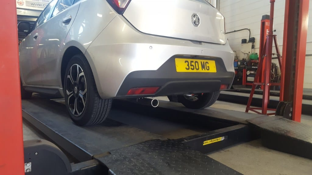 MG3 2018MY Peco Stainless Steel Exhaust system now available
