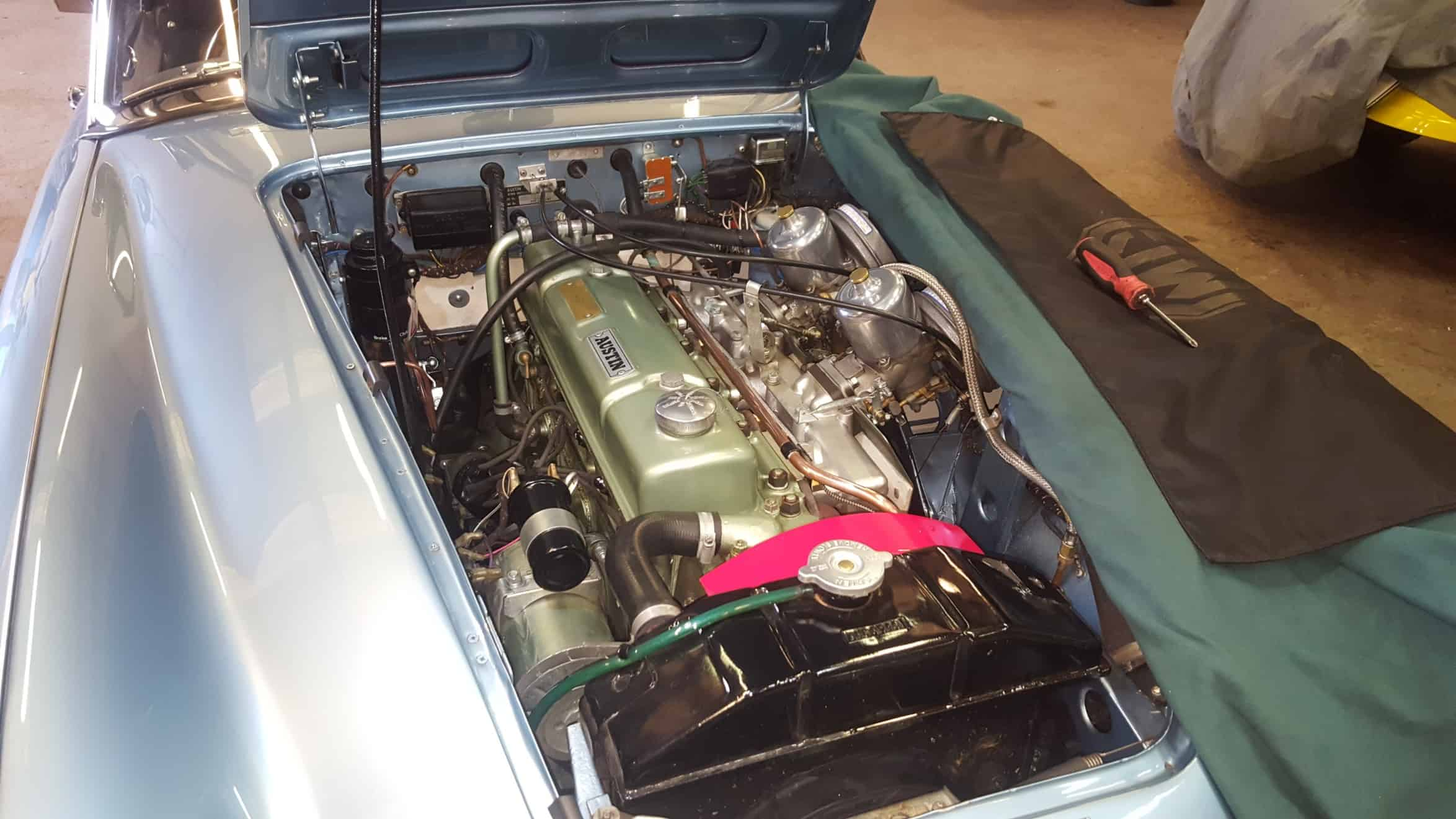 Austin Healey 3000 - Carburettor tune up
