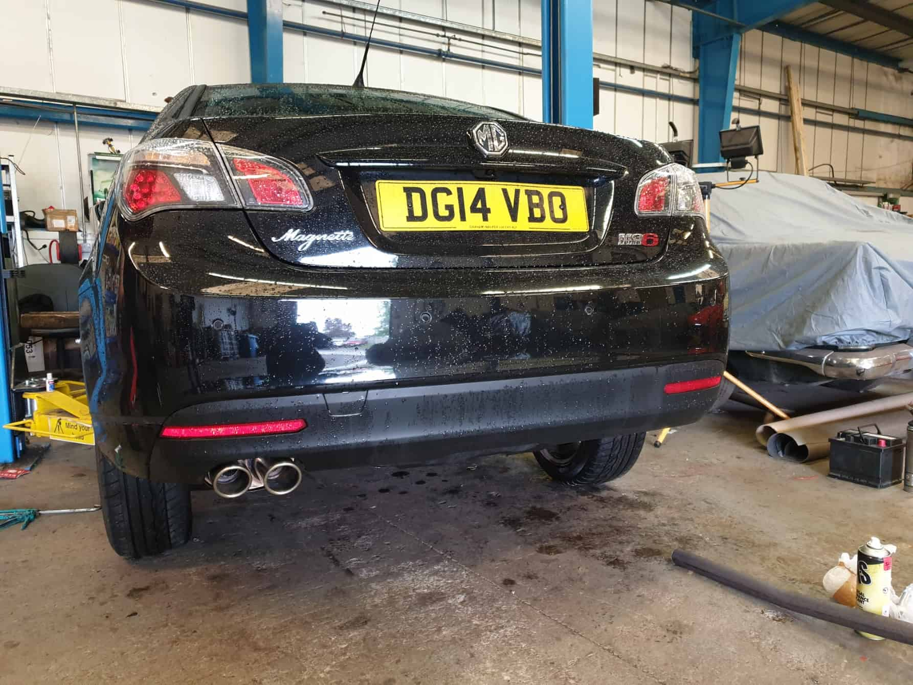 "2014 MG6 Magnette 1.8T Peco 2"" Stainless Steel Exhaust System Fitment"