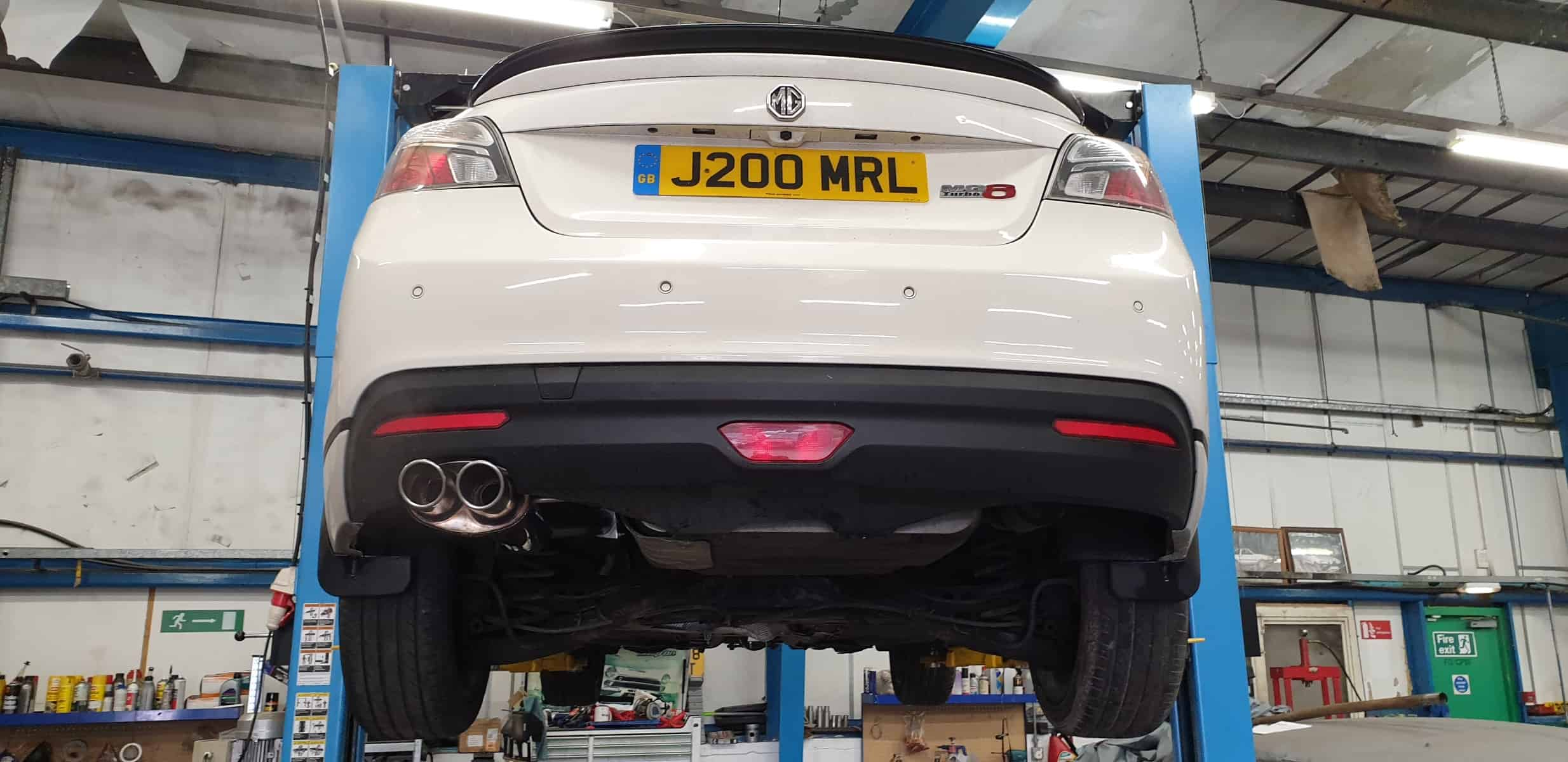 Another MG6 in for Peco System Fitment!