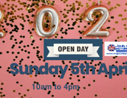 John Woods Motorcare Ltd 2020 Open Day, Sunday 5th April