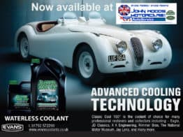 We are now Evans Waterless Engine Coolant Stockists