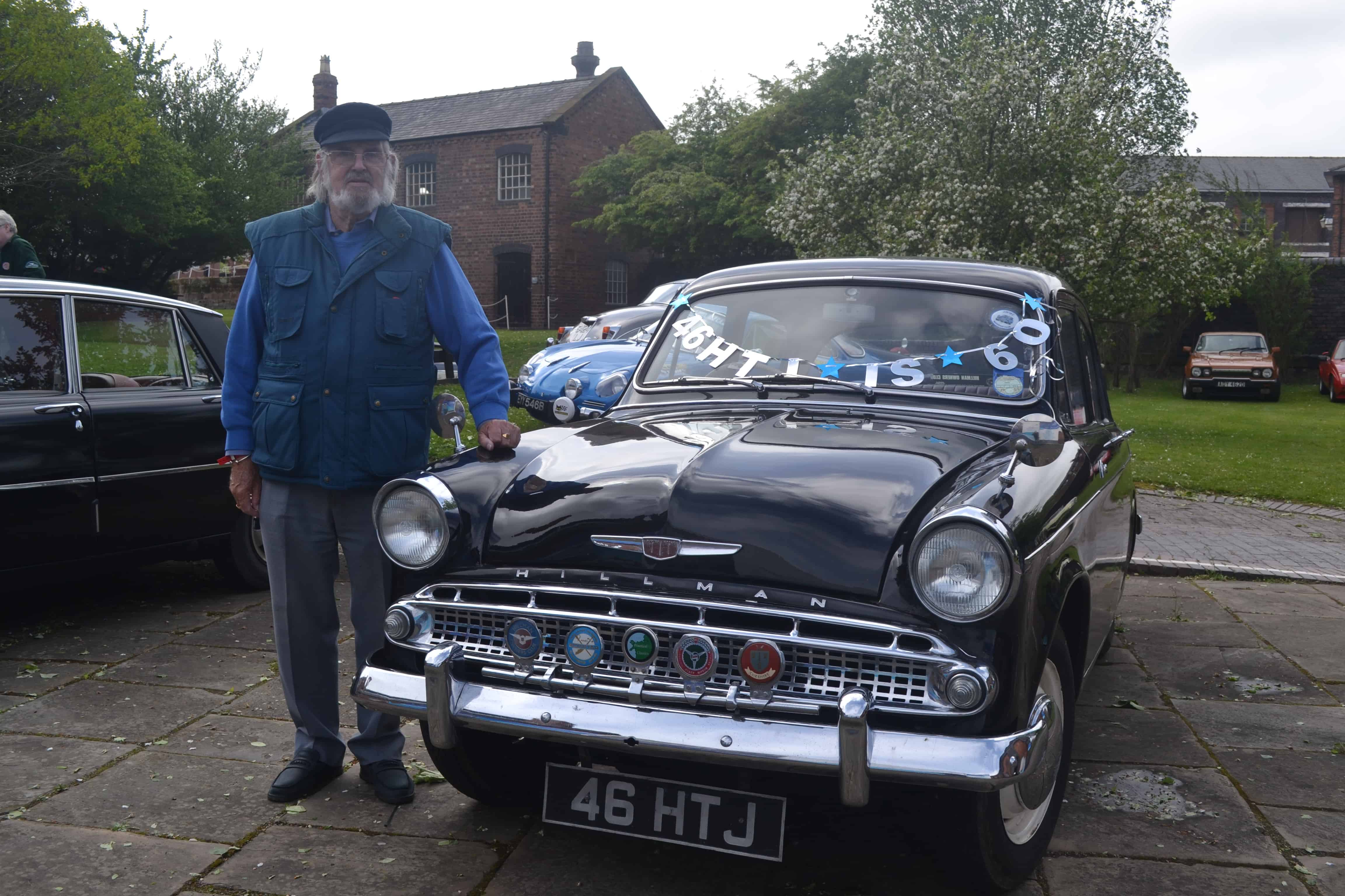 Eric Egertons Hillman Minx '46HTJ' has it's 60th Birthday on the 2019 FBHVC National Drive it Day