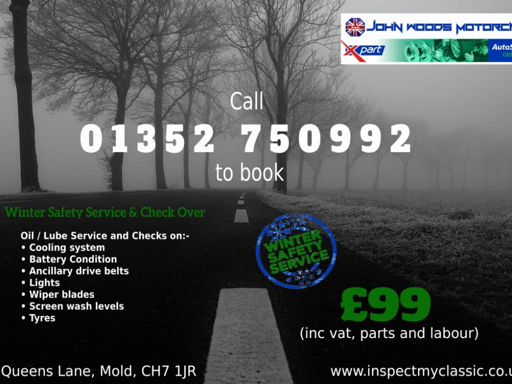 Winter Service Bookings now being taken