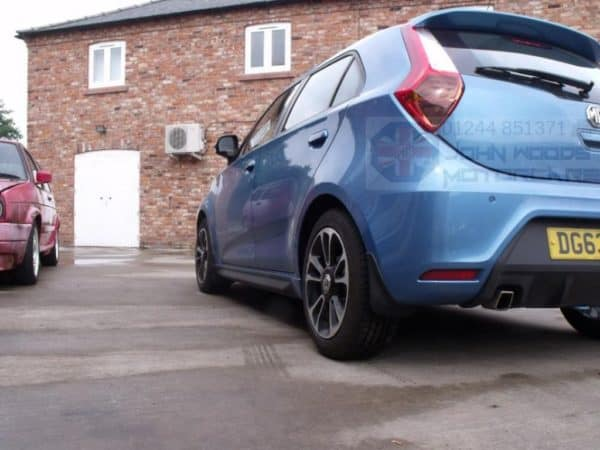 MG 3 Mudflaps Set 3Form Sport/3Style - Front and Rear Set